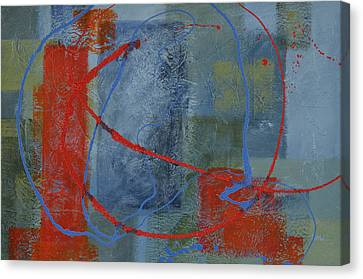 Turmoil Within Calmness Canvas Print by Leana De Villiers