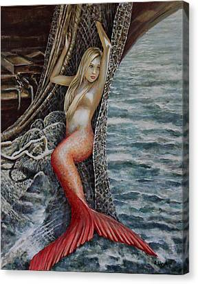 Turn Loose The Mermaid 2 Canvas Print