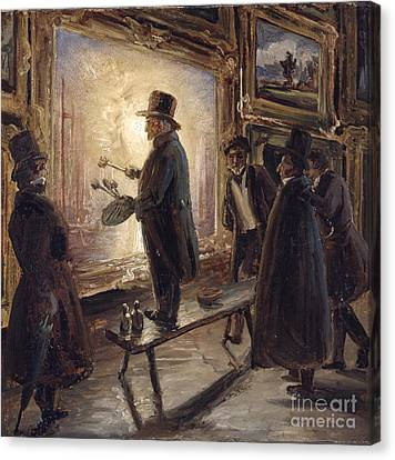 Fearnley Canvas Print - Turner Fernisserer by Thomas Fearnley