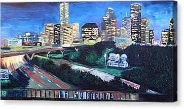 Turner's City Canvas Print by Lauren Luna