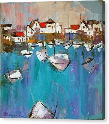 Turquoise Canvas Print by Anastasija Kraineva