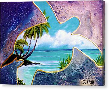 Turtle Bay #144 Canvas Print by Donald k Hall