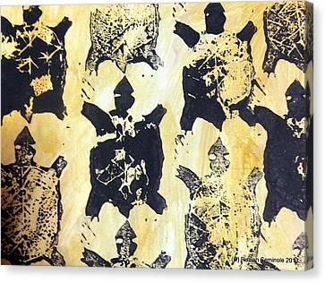 Turtle Clan Canvas Print