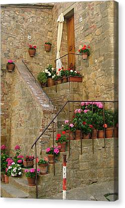 Tuscan Cottage Canvas Print