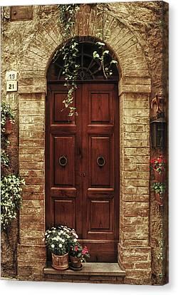 Tuscan Door Canvas Print