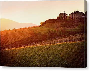 Tuscan Dream Canvas Print by John and Tina Reid
