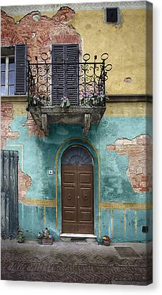 Tuscan Entrance 5 Canvas Print by Al Hurley