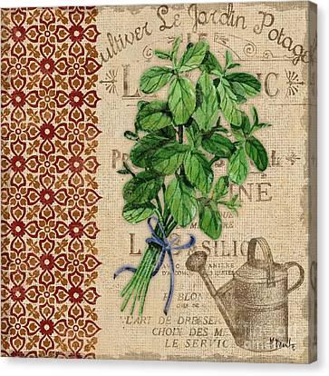 Tuscan Herbs I Canvas Print