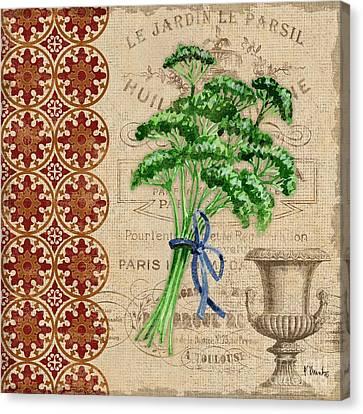 Tuscan Herbs IIi Canvas Print