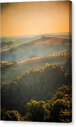 Tuscan Hills Canvas Print by Elena E Giorgi
