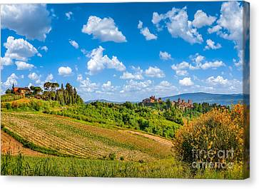 Tuscan Idyll  Canvas Print by JR Photography