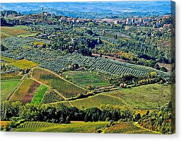 Tuscan Landscape Canvas Print by Frozen in Time Fine Art Photography