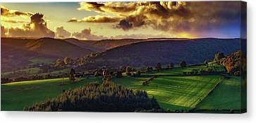 Tuscan Touch Canvas Print by Richard Sayer