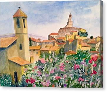 Tuscan Town Canvas Print