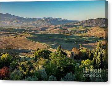 Tuscan View Canvas Print by Brian Jannsen