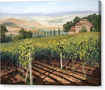 Tuscan Vines Canvas Print