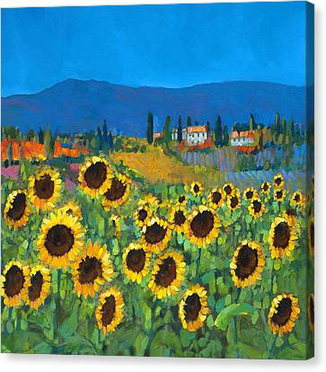 Tuscany Canvas Print by Chris Mc Morrow