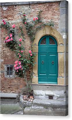 Tuscany Entrance Cortona Canvas Print