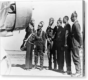 Tuskegee Airmen, 1942 Canvas Print by Granger