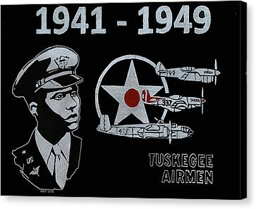 Tuskegee Airmen Canvas Print by Jim Ross
