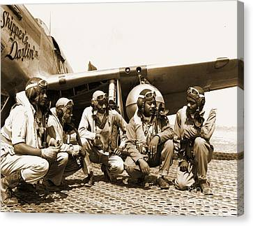 Tuskegee Airmen Canvas Print by Pd
