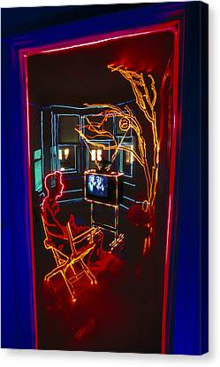 Tv Room Canvas Print by Garry Gay