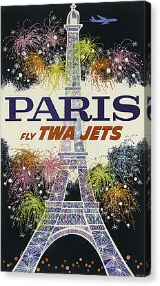 Twa Paris Canvas Print