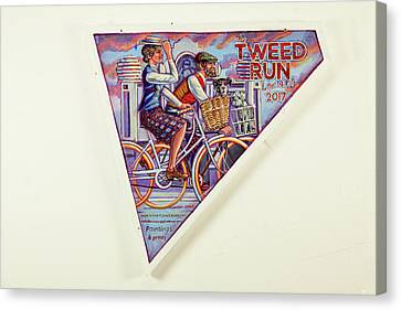 Tweed Run London Princess And Guvnor  Canvas Print