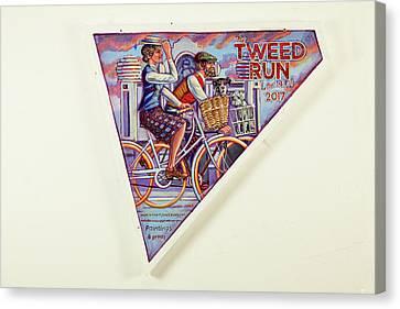 Tweed Run London Princess And Guvnor  Canvas Print by Mark Jones