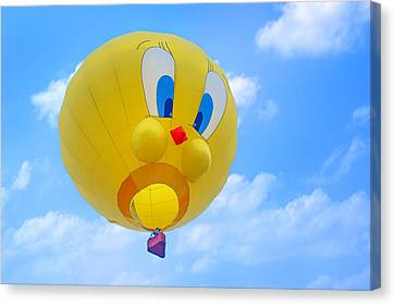 Tweety Bird - Hot Air Balloon Canvas Print