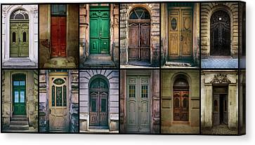 Canvas Print featuring the photograph Twelve Gates Of My Hometown by Jaroslaw Blaminsky
