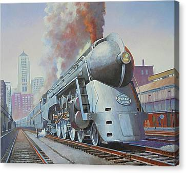 Twenthieth Century Limited Canvas Print by Mike Jeffries