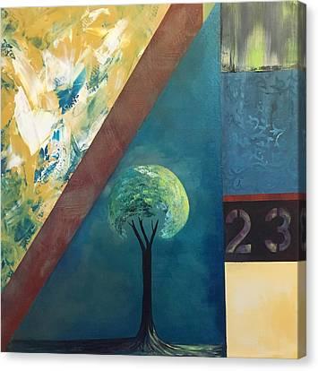 Twenty Three 23 Canvas Print