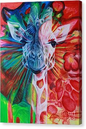 Twiga Canvas Print