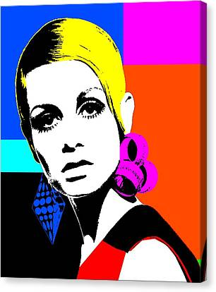 Twiggy 1 Canvas Print by Otis Porritt