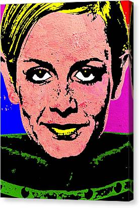 Twiggy 2 Canvas Print by Otis Porritt