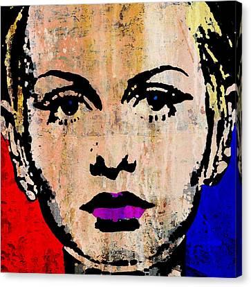 Twiggy 3 Canvas Print by Otis Porritt