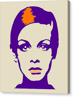 Twiggy 67 Canvas Print by Otis Porritt