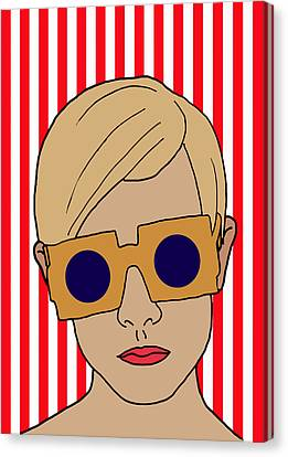 Twiggy Canvas Print - Twiggy by Nicole Wilson