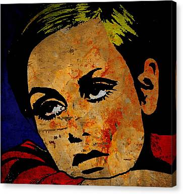 Twiggy Canvas Print by Otis Porritt
