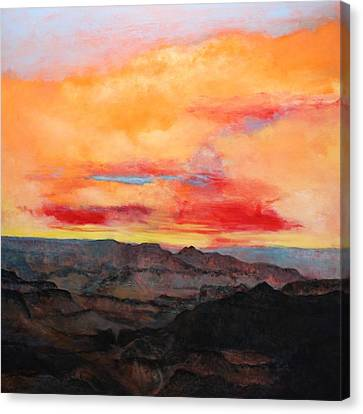 Twilight 8 Canvas Print by M Diane Bonaparte