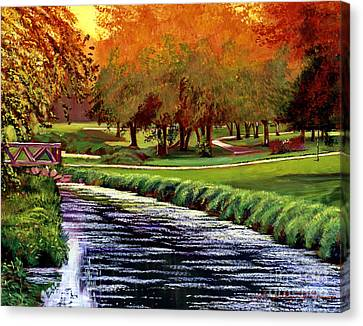 Twilight Golf Canvas Print