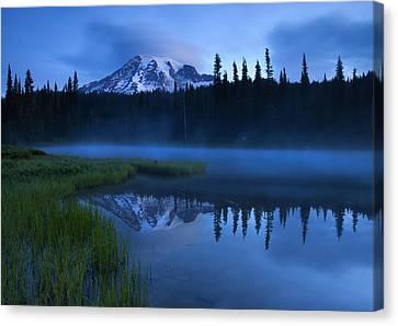 Twilight Majesty Canvas Print by Mike  Dawson