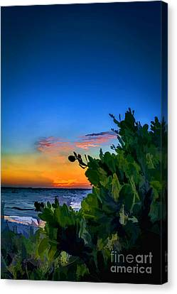 Twilight Mangrove Canvas Print by Marvin Spates