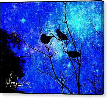 Twilight Canvas Print by MaryLee Parker