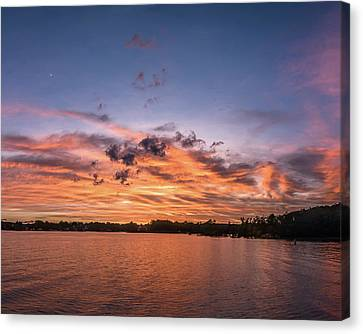 Twilight Moonrise Canvas Print