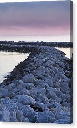 Twilight Of The Day Canvas Print