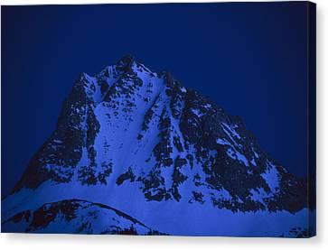 Twilight On Hurd Peak Canvas Print