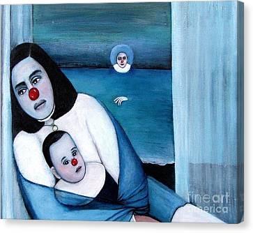 Twilight Canvas Print by Patricia Velasquez de Mera