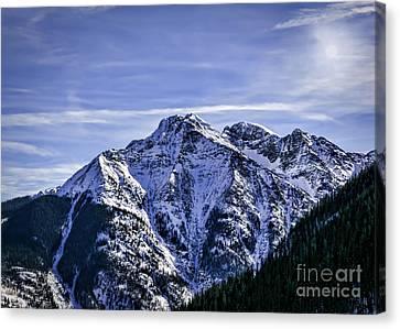 Twilight Peak Colorado Canvas Print
